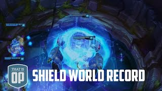 getlinkyoutube.com-The 13628 Damage Soaking Shield - THE BIGGEST SHIELD EVER - League of Legends World Records