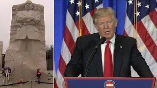 Trump Won't Visit African-American Museum, Will Meet With MLK's Son Instead