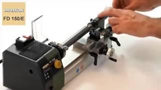 getlinkyoutube.com-Ministrung universal  150 mm FD 150/E PROXXON @ ToolsZone.ro