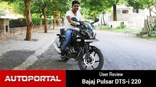 getlinkyoutube.com-Bajaj Pulsar 220F User Review 'Riding comfort is excellent' - Autportal