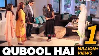 getlinkyoutube.com-Qubool Hai | Billo Rani's Truth's Out scene | Behind the scenes  tv series zee tv