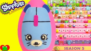 getlinkyoutube.com-Shopkins Clicky Mouse Play Doh Surprise Egg and Limited Edition Hunt