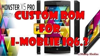 getlinkyoutube.com-รีวิวรอม Monster X5 Pro For i-Mobile IQ 6.3