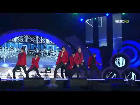 111024 INFINITE - Paradise Live @ 2012 Yeosu World Expo Concert