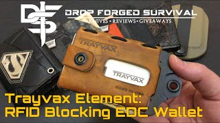 getlinkyoutube.com-Trayvax Element : RFID Blocking EDC Wallet - Every Day Carry - EDC