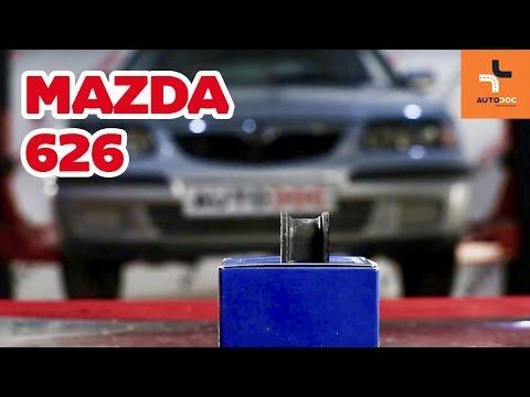 Как да сменим втулка на заден стабилизатор наMAZDA 626 ИНСТРУКЦИЯ   AUTODOC