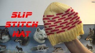 getlinkyoutube.com-Slip Stitch Hat
