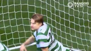 getlinkyoutube.com-Celtic Thunderstruck by The Rangers 3 - 1