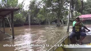 Grandes hidrelétricas e a grande cheia do Madeira