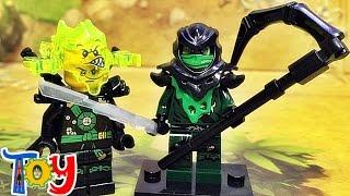 getlinkyoutube.com-decool 레고 닌자고 고스트닌자 이블그린닌자 모로 스크리머 미니피규어 중국 짝퉁 lego ghost ninjago evil green ninja