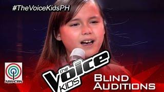 "getlinkyoutube.com-The Voice Kids Philippines 2015 Blind Audition: ""Skyscraper"" by Stephanie"