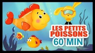 getlinkyoutube.com-Les petits poissons dans l'eau - 1H DE COMPTINES POUR LES PETITS - Titounis