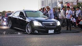 【車高短 クラウン マジェスタ】 StanceNation 2015 Tokyo G Edition スタンスネーションJAPAN 車高短 シャコタン Lowered exhaust low car