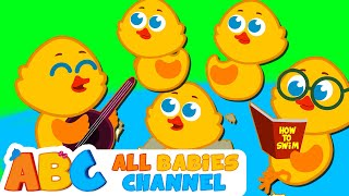 getlinkyoutube.com-Five Little Ducks And More | Nursery Rhymes For Children | Kids Songs | All Babies Channel