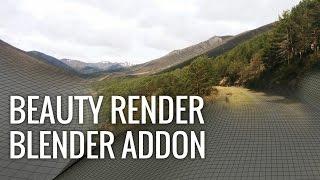 getlinkyoutube.com-Beauty Render - Blender Addon: Realistic Results in a Breeze (April's Fools Joke)