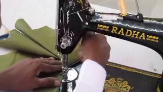 getlinkyoutube.com-Ladies Blouse - Stitching Method FDTT