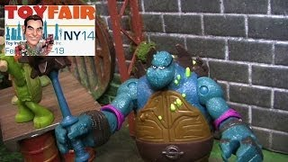 nickelodeon teenage mutant ninja turtles figures at new york toy fair 2014