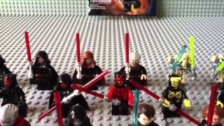 getlinkyoutube.com-My MASSIVE Lego Star Wars Sith Minifigure Collection 2012 Update