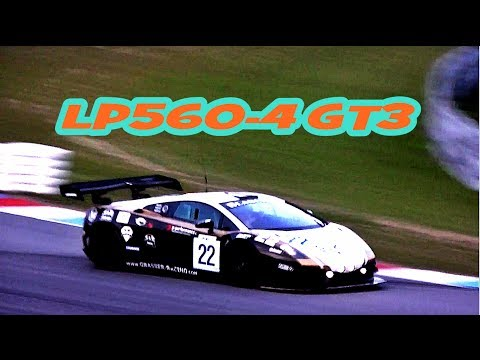 Lamborghini Gallardo LP560-4 GT3 Accelerations, Fly Bys & Downshifts!