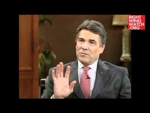 Rick Perry: Economic Crisis Is God's Way Of Bringing Us Back To Biblical Principles