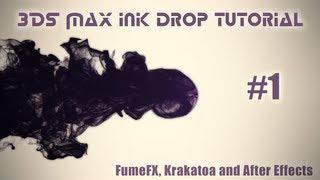 getlinkyoutube.com-3DS Max ink drop tutorial - FumeFX, Krakatoa and After Effects - Part 1