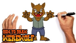getlinkyoutube.com-How to Draw a Werewolf- Beginners Art Lesson
