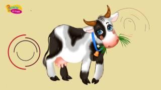 getlinkyoutube.com-Хто що їсть. Як говорять домашні тварини. Розвиваюче відео для дітей українською