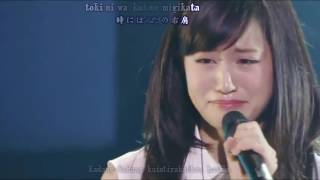 getlinkyoutube.com-Maeda Atsuko - Migikata (Subtitle Indonesia)