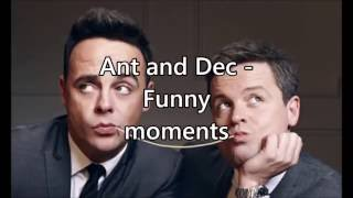 getlinkyoutube.com-Ant and Dec - Funny moments compilation // Part 1