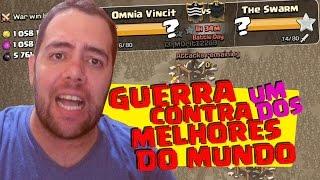 GUERRA CONTRA UM DOS MELHORES CLÃS DE GUERRA DO MUNDO (TOP 4) - OMNIA VINCIT x THE SWARM