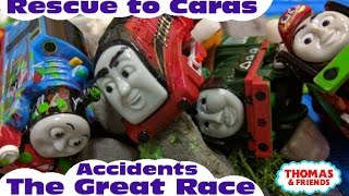 """getlinkyoutube.com-Thomas and friends """"The Great Race Accidents 