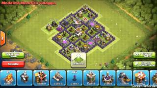 Clash of Clans - Municipio livello 8 - Trofei...