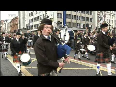 St Patricks Day celebrations in Belfast 2014