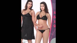 getlinkyoutube.com-Indiatrendzs Women's Sexy Hot Nighty Set Honeymoon Nightwear Freesize
