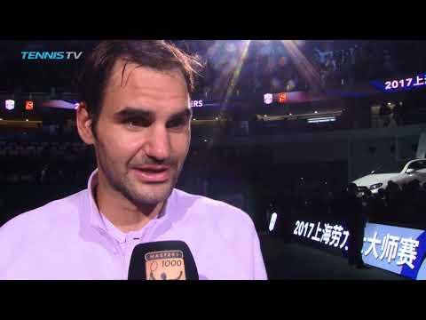 `Shocked` Roger Federer talks after brilliant win vs Nadal   Shanghai 2017 Final