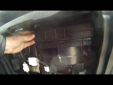Замена фильтра кондицианера