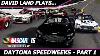 getlinkyoutube.com-Daytona Speedweeks Part 1- DAYTONA DUELS [NASCAR 15 Career Mode]