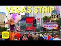Walking the Las Vegas Strip | Mirage to Aria | 2019 | 4K Walking Tour