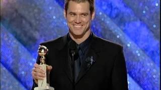 flushyoutube.com-Jim Carrey Wins Best Actor Motion Picture Drama - Golden Globes 1999