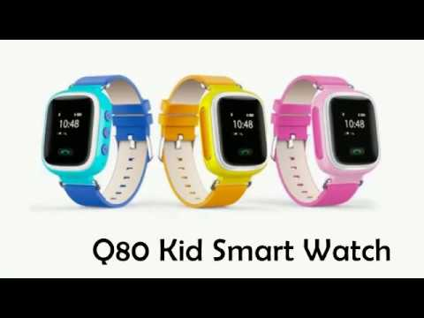 Q80 Smartwatch GPS Locator Kids GSM Phone SOS Smart Watch Review from Aslongdeal com