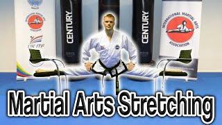 Martial Arts Stretching (Get High Kicks/Splits)   GNT Tutorial