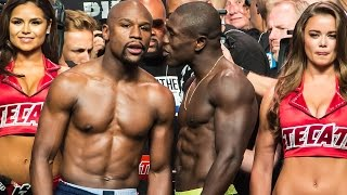 getlinkyoutube.com-*RAW & UNCUT* Floyd Mayweather VS. Andre Berto Official Weigh-In VIDEO!!!