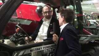 Massey Ferguson at SIMA 2015 - The new MF 9305 Xtra