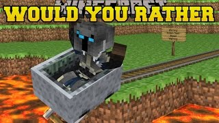 getlinkyoutube.com-Minecraft: EXTREME WOULD YOU RATHER (GET IT RIGHT OR DIE!) Mini-Game [1]