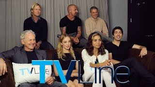 "getlinkyoutube.com-""Legends Of Tomorrow"" Cast Interview at Comic-Con 2015 - TVLine"