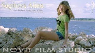 "getlinkyoutube.com-MODEL PHOTO GALLERY ""My summer on the Volga"" Alina Sagitova."