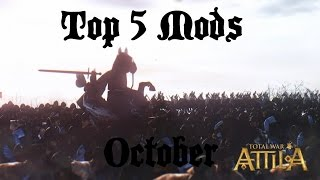 getlinkyoutube.com-Top 5 Attila Total War Mods - October