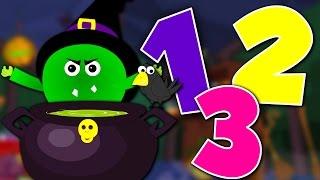 getlinkyoutube.com-scary numbers song | learn numbers | counting numbers 123 | nursery rhymes | scary song