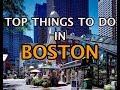 Top Things To Do in Boston, Massachusetts 4K