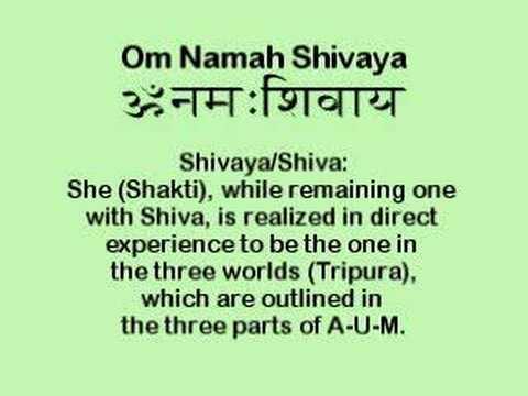 Om Namah Shivaya Mantra: Yoga Meditation, Vedanta, Tantra
